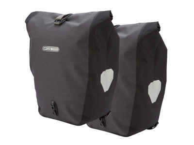 Ortlieb - Back-Roller plus - Grå/Sort 2 x 20 liter