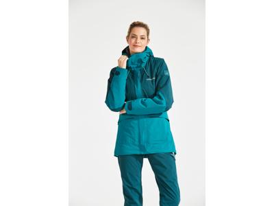 Didriksons Alta Womens Jacket - Vandtæt damejakke m. for - Blå