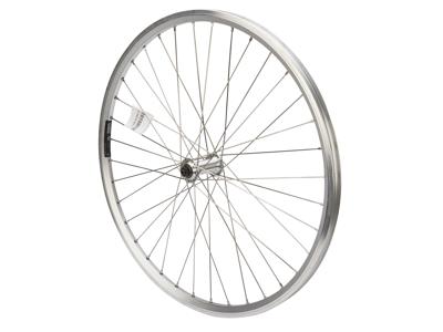 """Contec 26"""" MTB forhjul - Classic Z19 fælg - 19-559 - Fælgbremse - QR - Sølv"""