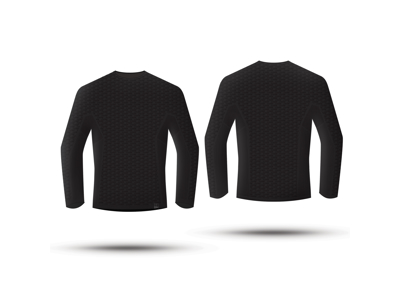 GripGrab Freedom Seamless Thermal Base Layer LS 6011 - Svedundertrøje - Unisex - Sort