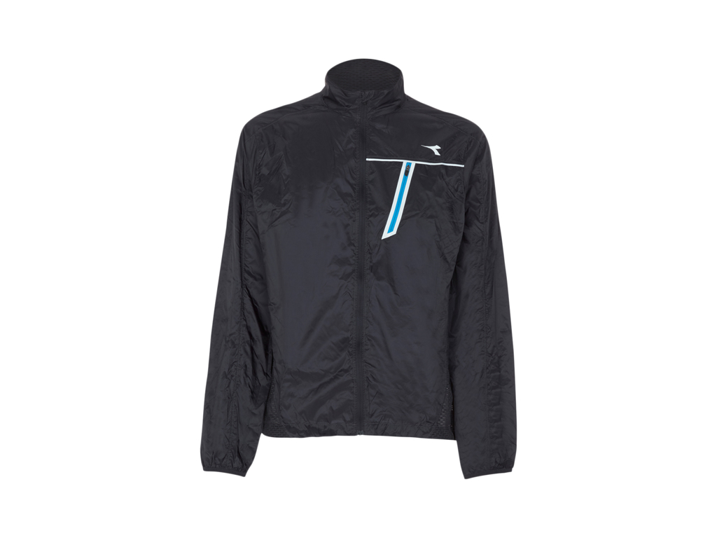 Image of   Diadora - STC Wind Jacket - Vindtæt løbejakke - Herre - Sort