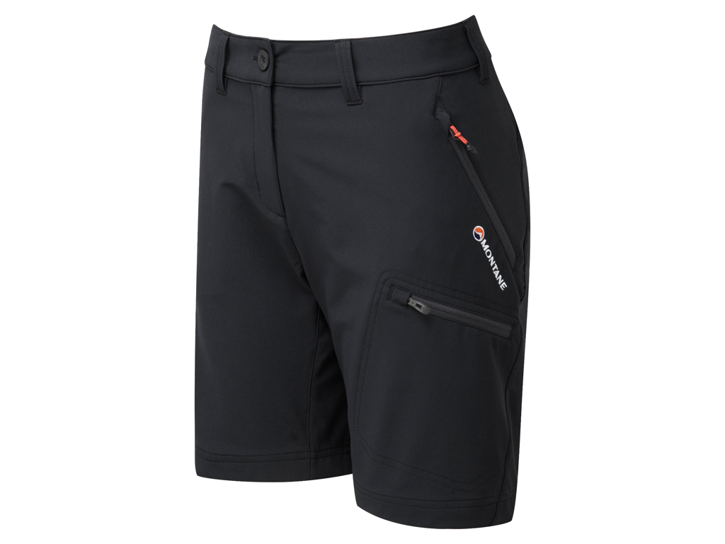 Montane Womens Dyno Stretch Shorts - Shorts Dame - Sort - 42 thumbnail
