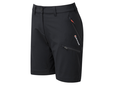 Montane Women's Dyno Stretch Shorts - Dambyxor - Svart