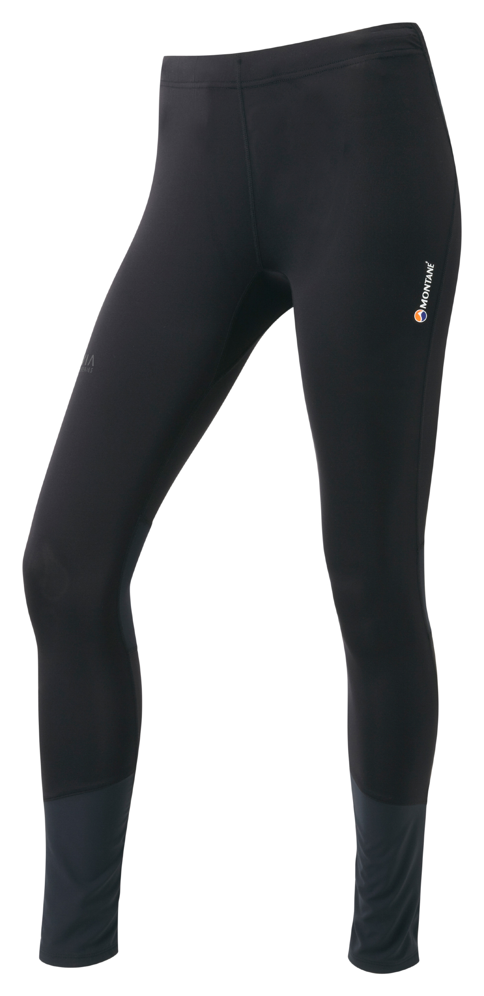 Montane Womens Trail Series Long Tights - Løbetights - Dame - Sort | Trousers
