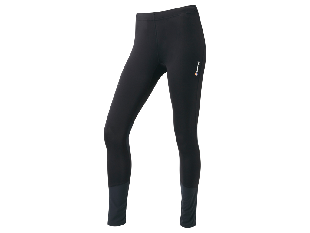 Montane Womens Trail Series Long Tights - Løbetights - Dame - Sort