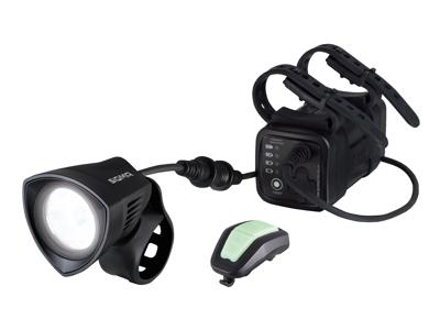 Sigma Buster 2000 - MTB forlygte - 2000 Lumen - Trådløs fjernbetjening