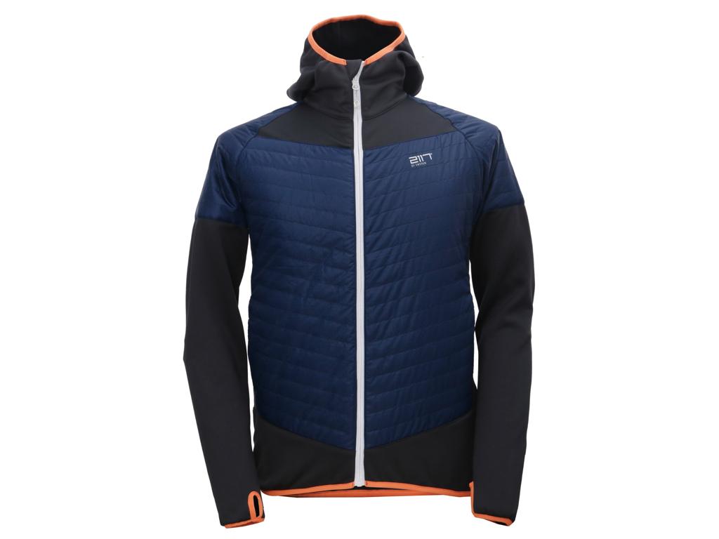 2117 Of Sweden Blixbo Eco Jacket - Hybrid jakke - Herre - Blå/grå - Str. M thumbnail
