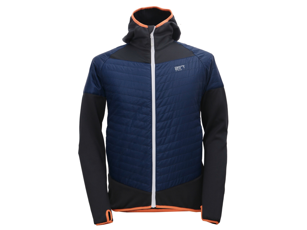 Image of   2117 Of Sweden Blixbo Eco Jacket - Hybrid jakke - Herre - Blå/grå - Str. M