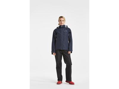 Didriksons Stratus Womens Jacket - Regnjakke dame - Navy
