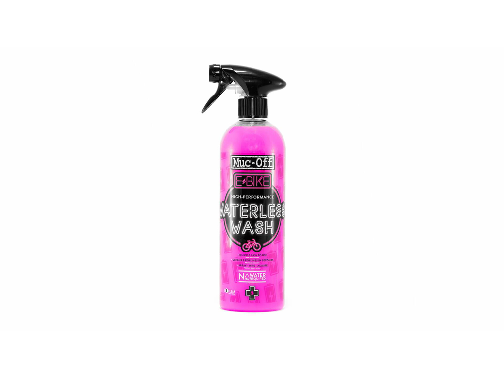 Image of   Muc-Off E-Bike Dry Wash Cleaner - Cykelvask og Polisher - 750 ml