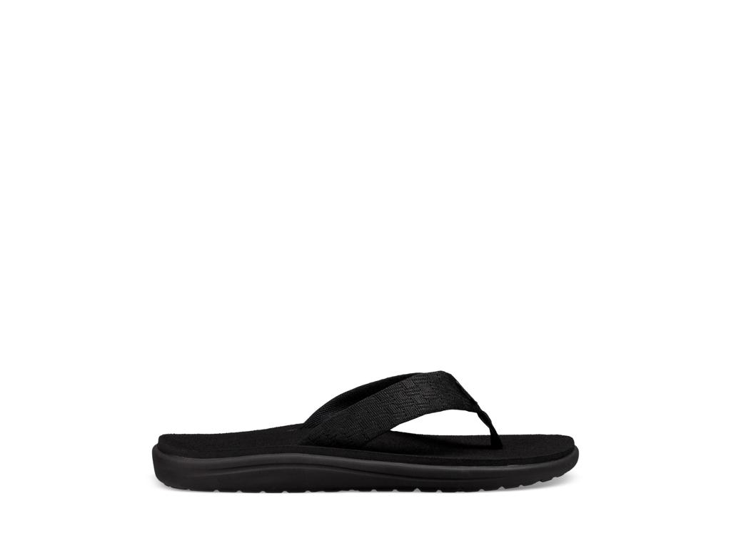 Teva M Voya Flip - Sandal til mænd - Brick Black - Str 45,5