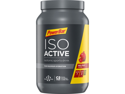 Powerbar IsoActive - Energidrik - Red fruit punch 1.320 gram