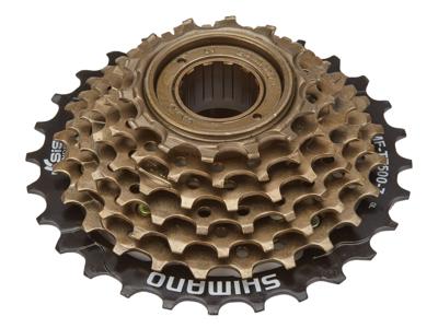 Shimano Frikrans - MF-TZ500 - 7 gear 14-28 tands med gevind