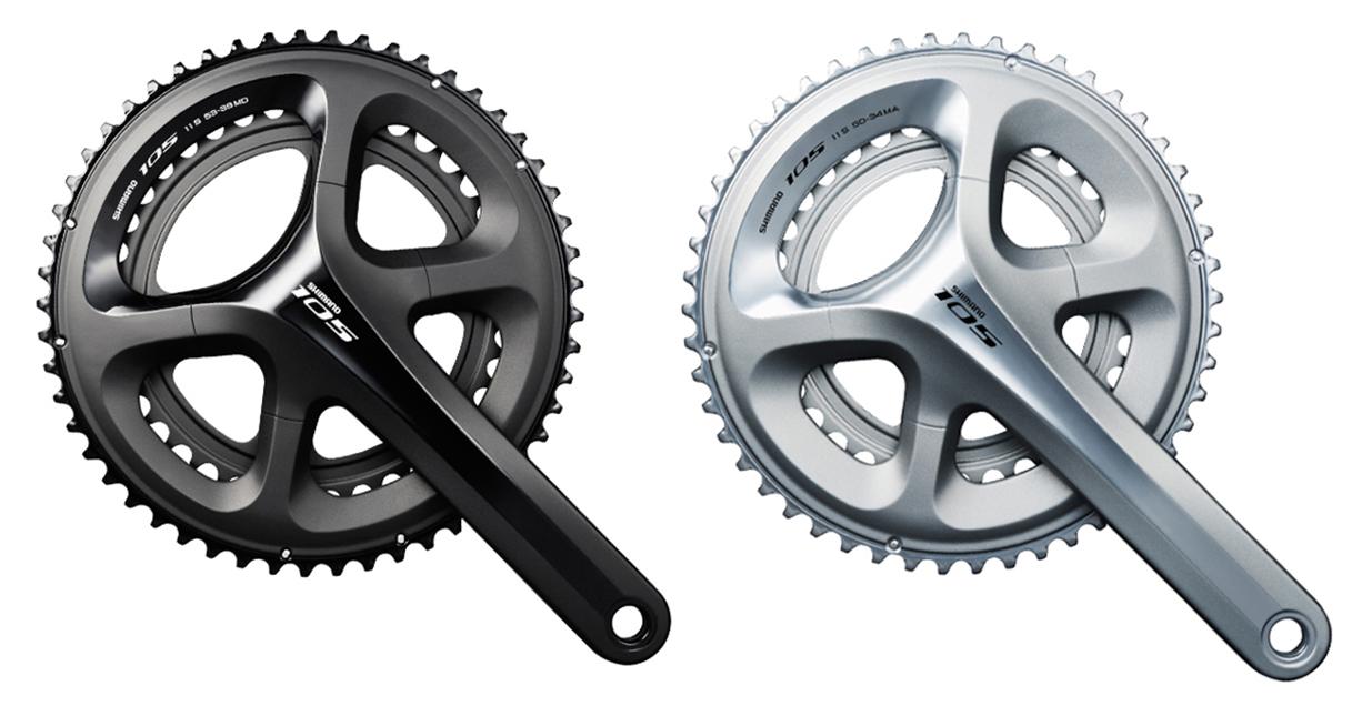 Shimano 105 kranksæt model FC5800 til 2 x 11 gear | Kranksæt