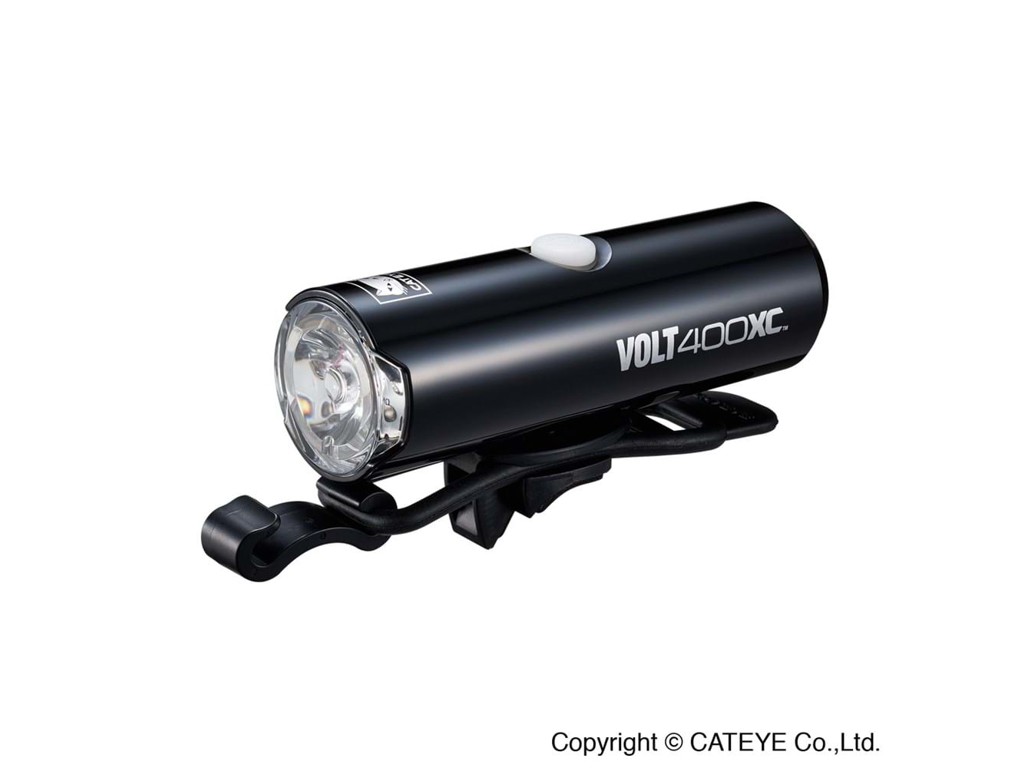 Image of   Cateye VOLT400XC - Forlygte - 400 lumen - HL-EL070RC USB - Sort