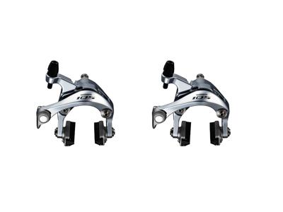 Shimano 105 - Bremseklo sæt - BR-5800 sølv - Til center montering