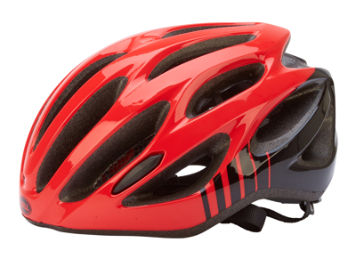 Bell Draft - Cykelhjelm - Str. 54-61 cm - Rød/Sort