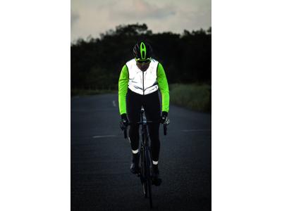 AGU Windproof II Hivis - Reflekterende cykelhandsker - Sort/Novatryk