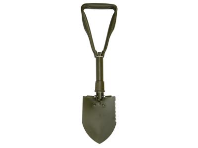 Atredo Skovl - Hopfällbar spade - 01502 hacka, sågtänder och trampkant