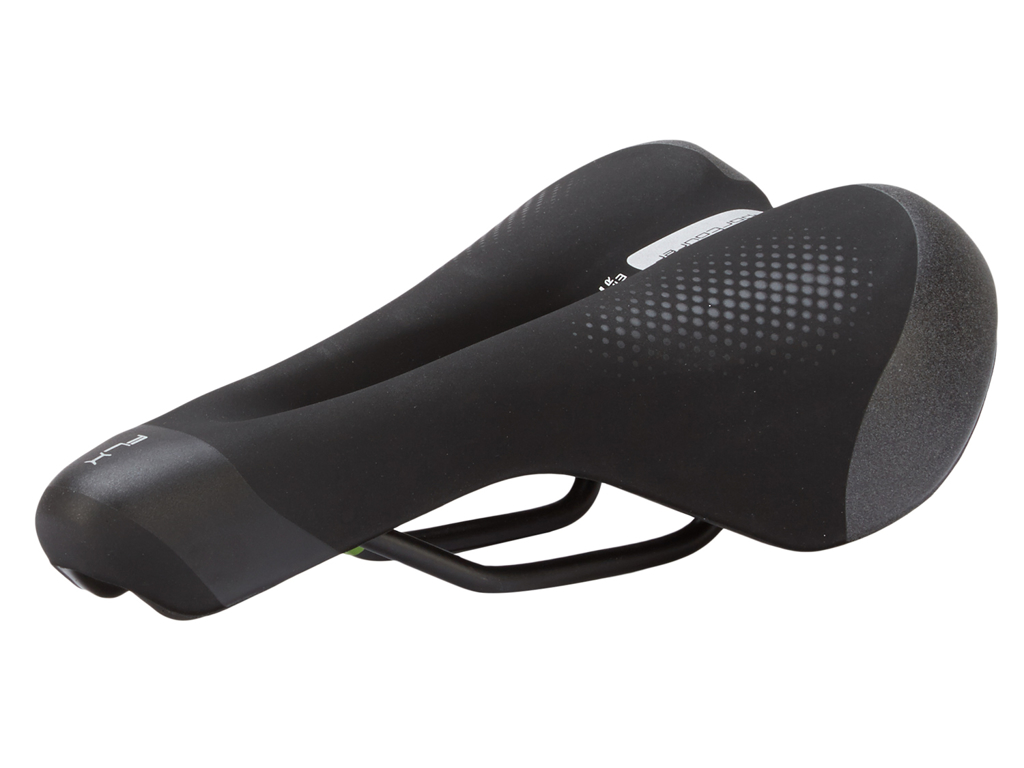 Image of   Selle Italia FLX Gel Superflow - Sadel - Sportourer - Unisex - Sort