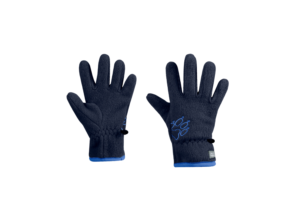 Jack Wolfskin Baksmalla - Fleece handske - Kids - Str. 140 - Midnight blue thumbnail