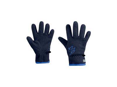 Jack Wolfskin Baksmalla - Fleece handske - Kids - Midnight blue
