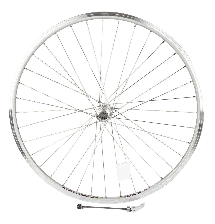 Rodi 700c baghjul - Wegal Due fælg - 13-622 - Quick release - DB 13 mm - Sølv | Rear wheel