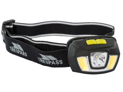 Trespass Blackout - Pannlampa - 250 lumen LED - Svart