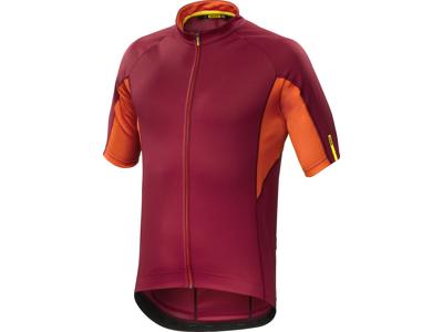 Mavic Aksium - Cykeltrøje - Rød/orange
