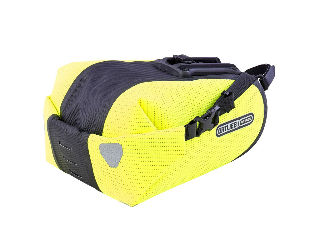 Image of   Ortlieb Saddle-bag Two High Visibility - Sadeltaske - Gul - 4,1 liter