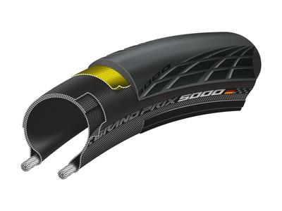 Continental Grand Prix 5000 - Foldedæk - 700x23c (23-622)