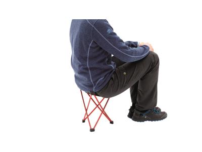 Robens Geographic Stools High - Hopfällbar stol - 33 x 33 x 32 cm - Röd