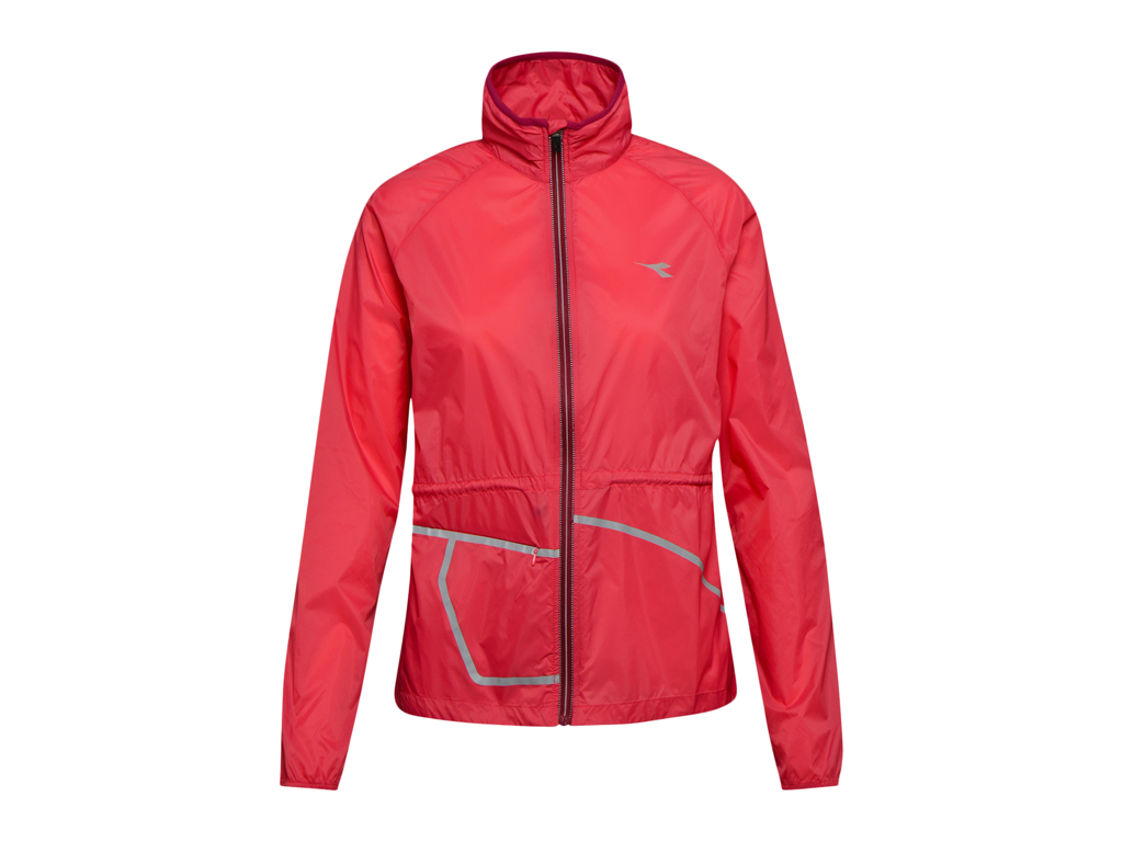 Image of   Diadora L. Wind Jacket - Løbejakke Dame - Rød - Str. XL