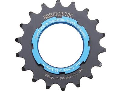 """BBB - Bakdrev till E-bike - 3/32"""" 2,5mm - Stål - Svart"""