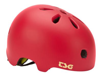 TSG Cykel- och skaterhjälm - Metafärgad färg - Satin som blommar rosa