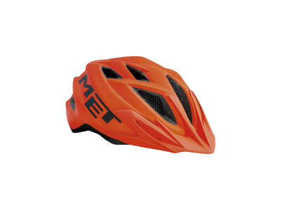 Met Crackerjack - Junior cykelhjelm - Orange - Str. 52-57 cm