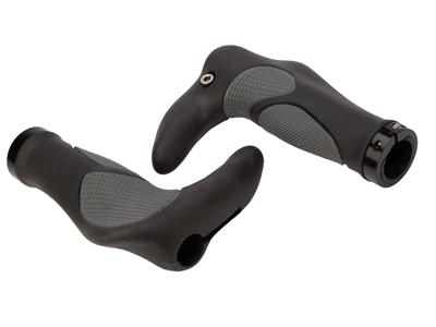 Atredo - Håndtag - Ergonomiske - Med barends -Sort/Grå