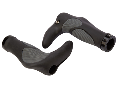 OnGear - Håndtag - Ergonomiske - Med barends -Sort/Grå