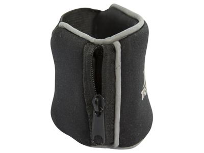Trespass Carpal - Løbearmbånd med lomme - Neopren - Sort
