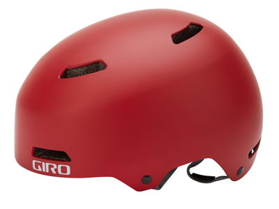Giro Dime FS - Cykelhjelm - Str. 47-51 cm - Mat Mørk Rød