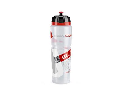 Elite Corsa - Drikkeflaske 950ml  - 100% Biologisk nedbrydelig - Klar/Rød