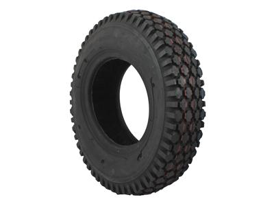 Dæk og slange 6 x 3,50/4,10 slange med 90 graders autoventil