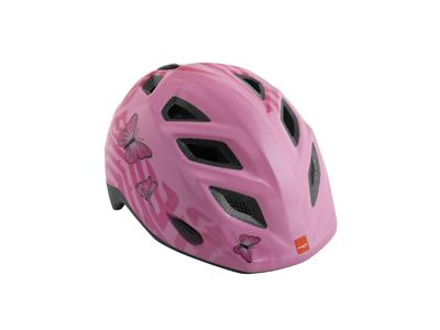 Met Elfo/Genio - Cykelhjelm - Pink Sommerfugle
