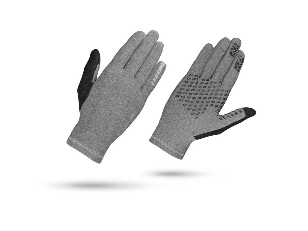 GripGrab Insulator - Dame touchskærm cykelhandske - Grå - Str. M thumbnail