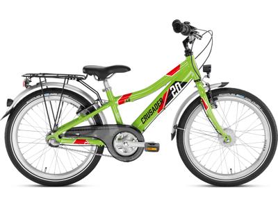 """Puky - Barncykel - Crusader 20-3 Aluminium - 20"""" med 3 växlar - Grön"""
