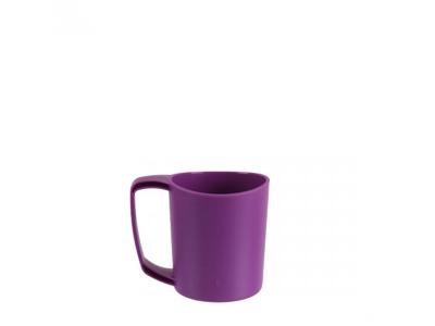 LifeVenture Ellipse Plastic Camping Mugs - Letvægts Krus - Lilla
