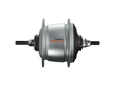 Shimano Nexus - Gearnav med 8 gear og friløb og til rullebremse - Type SG-C6011-8R - Sølv