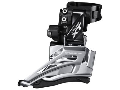 Shimano XT - Forskifter FD-M8025 - 2 x 11 gear med High clamp spændebånd - 28,6-34,9mm