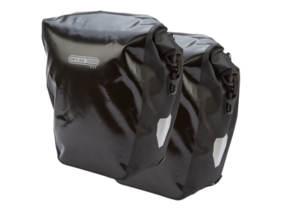Ortlieb - Back-Roller City - Sort 2 x 20 liter