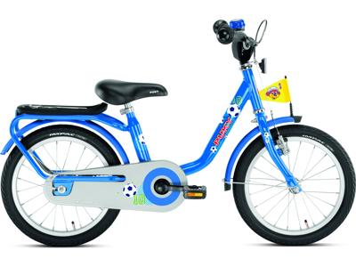 "Puky - Drengecykel - Z 6 16"" i stål - Blå"